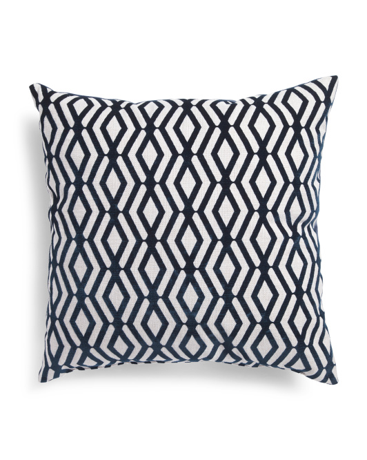 Made In Usa 22x22 Patterned Pillow - Throw Pillows - T.J.Maxx