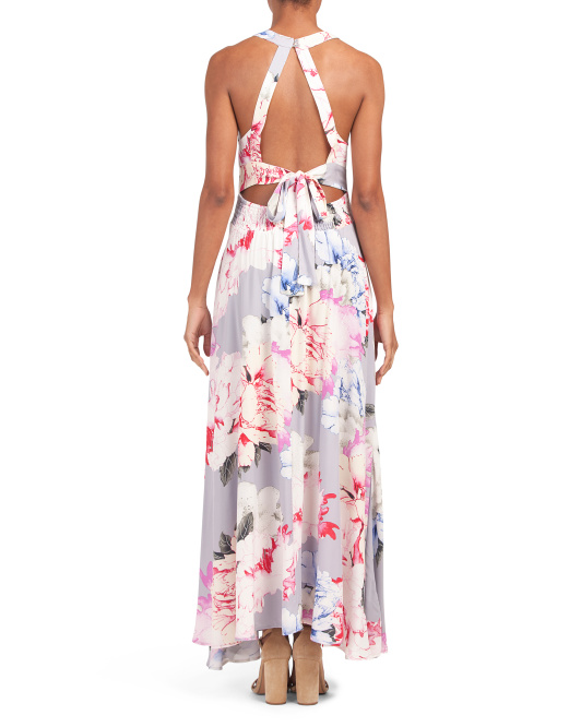 Juniors Le Fleur Endless Summer Maxi Dress