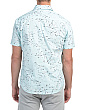 Seagull Print Short Sleeve Shirt