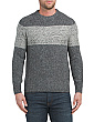 Made In Italy Wool Blend Snowflake Sweater