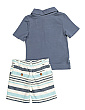 Toddler Boys 2pc Leaf Short Set