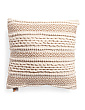 20x20 Textured Natural Pillow