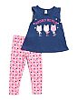 Toddler Girls Squad Goals Tee And Legging Set