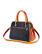 Made In Italy Leather Vacchetta Satchel