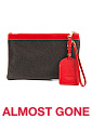 Made In Italy Vachetta Leather 2-in-1 Pouch
