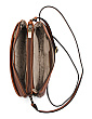 Leather Multi-pocket Crossbody
