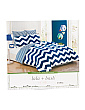 Chevron Stripes Reversible Comforter Set