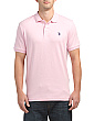 Short Sleeve Heather Interlock Polo