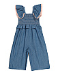 Toddler Girls Chambray Romper