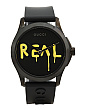 Swiss Made G Timeless Real Logo Rubber Strap Watch