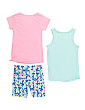 Little Girls 3pc Active Short Set