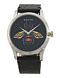Women's Swiss Made G Timeless Bee Dial Leather Strap Watch