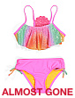 Little Girls 2pc Mermaid Shell Swimsuit