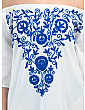 Celeste Embroidered Cover-up Dress
