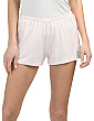 2pk Pj Shorts With Triangle Lace