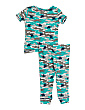 Toddler Boy 2pc Robot Hacci Sleep Set