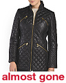 Double Zip Quilted Jacket