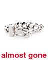 Made In Italy Sterling Silver Buckle Bracelet