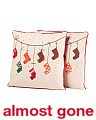 Set Of 2 18x18 Stocking Pillows