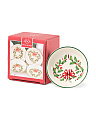 Holiday Dipping Bowl 4pc Set