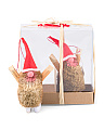 Rustic Elf Ornament Set