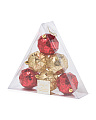 Set Of 6 Shatterproof Ornaments