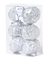 6pk Large Shatterproof Ornaments