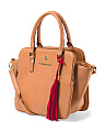 Susannah Triple Entry Satchel