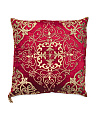 Made In India Velvet Pillow