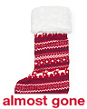 Doggy Fairisle Knit Stocking