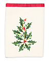Holly Holiday Tip Towel