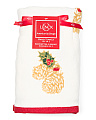 Pine Cone Holiday Hand Towel Set