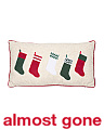 14x27 Velvet Stockings Pillow