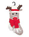 Winter Moose Monkey Stocking