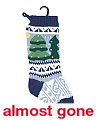 Nordic Christmas Tree Stocking