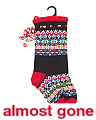 Fair Isle Woven Stocking