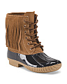 Fringe Outdoor Boot
