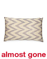 22x14 Silk Chevron Ikat Pillow