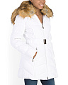 Faux Fur Collar Down Jacket