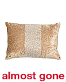 15x20 Beaded Velvet Pillow
