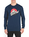 Retro Crew Neck Sweatshirt