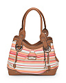 Vera Cruz Striped Tote