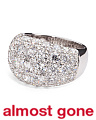 18k White Gold 5.55 Carat Diamond Ring