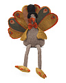 Large Plush Turkey Decor