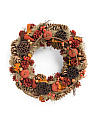 20in Pumpkin Wreath