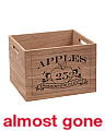 13in Orchard Wood Crate
