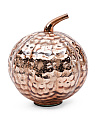 Made In India Glass Hammered Pumpkin