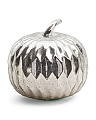 11in Antiqued Glass Pumpkin