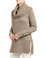 Wool Blend Pullover Sweater