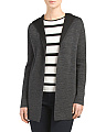 Merino Wool Double Knit Cardigan